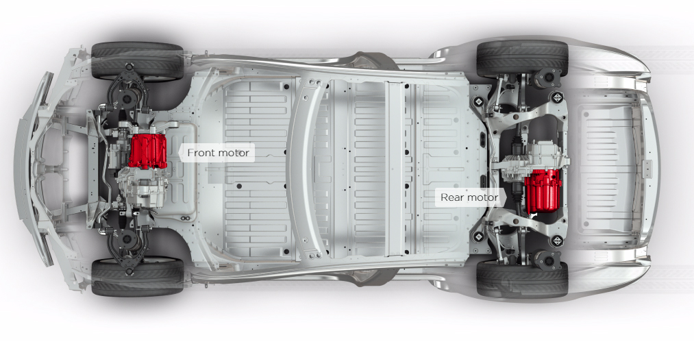 Dual Motor Model S Is A Categorical Improvement On Conventional All Wheel Drive Systems With Two Motors One In The Front And Rear